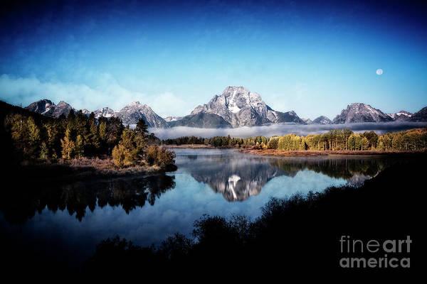 Photograph - Moran Reflection by Scott Kemper