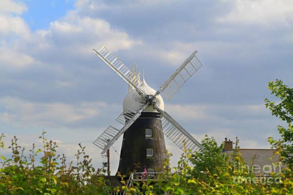 Rutland Photograph - Morcott Windmill In Rutland by Louise Heusinkveld