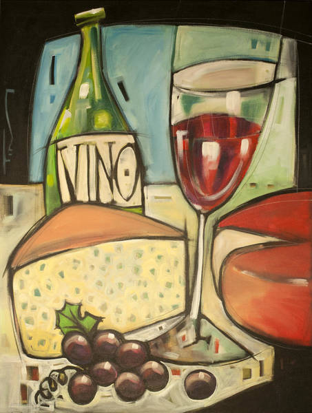 Painting - More Cheese Please by Tim Nyberg