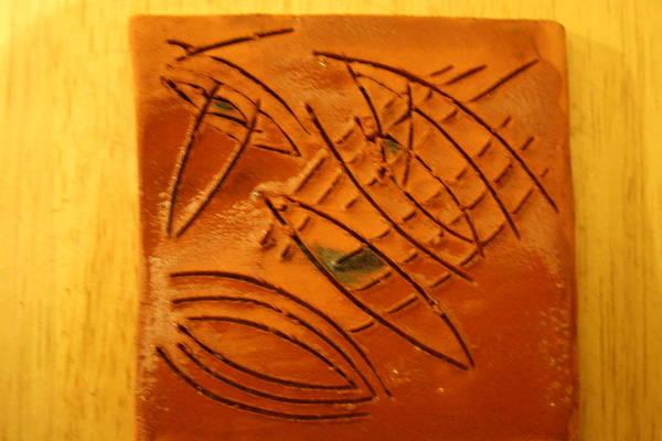Ceramic Art - More Eyes - Tile by Gloria Ssali