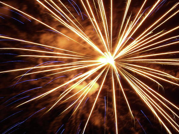 Photograph - More Fireworks - 1 by Jeffrey Peterson