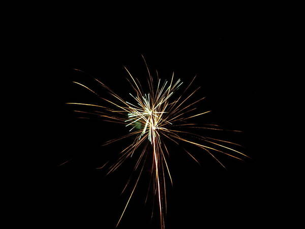 Photograph - More Fireworks - 3 by Jeffrey Peterson