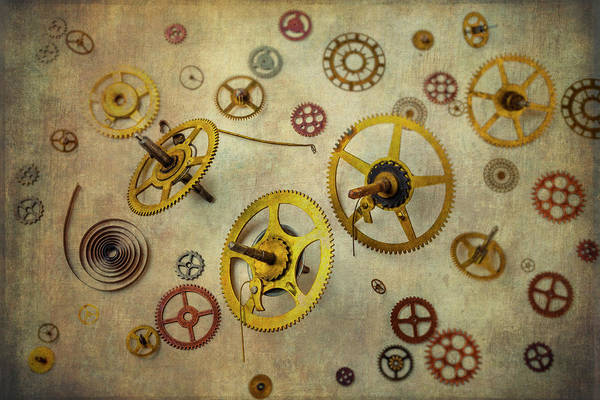 Deterioration Photograph - More Gears by Garry Gay