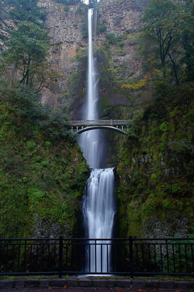 Refreshing Photograph - More Multnomah Falls by Todd Kreuter