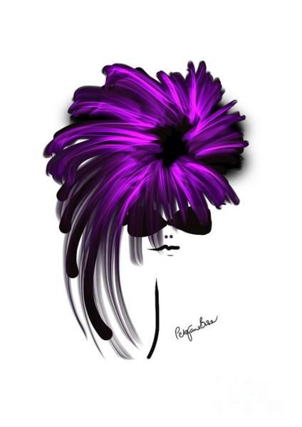 Hairdo Digital Art - More Pink To Make The Boys Wink by Peta Brown