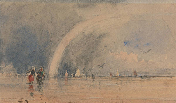 Painting - Morecambe Sands by David Cox
