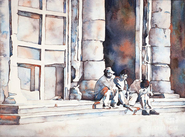 Wall Art - Painting - Morelia Afternoon- Mexico by Ryan Fox