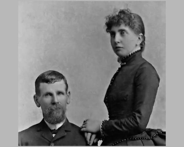 Photograph - Morgan And Lousia Earp by John Feiser