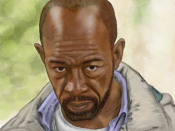 Wall Art - Digital Art - Morgan by Antonio Romero
