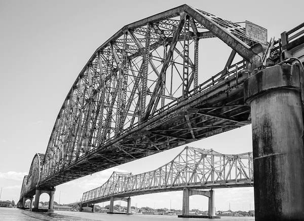 Photograph - Morgan City Bridges 1 by Gregory Daley  MPSA