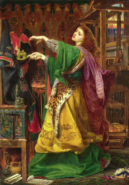 Wall Art - Painting - Morgan Le Faye by Frederick Sandys