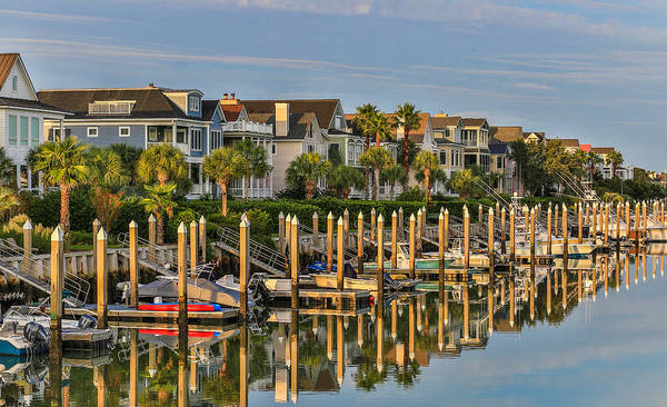 Photograph - Morgan Place Homes In Wild Dunes Resort by Donnie Whitaker