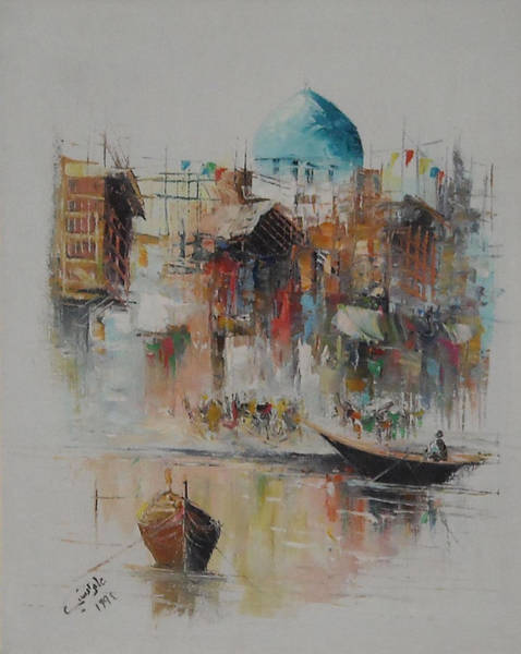 Baghdad Painting - Morgans Contrasts by Iraqi Signature
