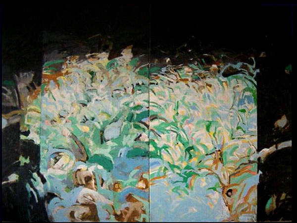 Wall Art - Painting - Moring by Vladimir Vlahovic