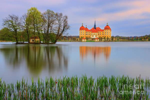 Moritzburg Castle Art Print