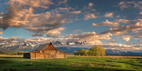 Photograph - Mormon Row At Sunrise by Michael Ash