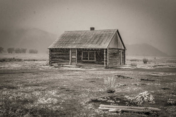 Photograph - Mormon Row Grand Teton National Park  by Scott McGuire
