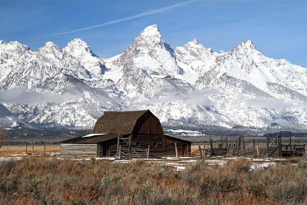 Photograph - Mormon Row In Grand Teton National Park by Pierre Leclerc Photography