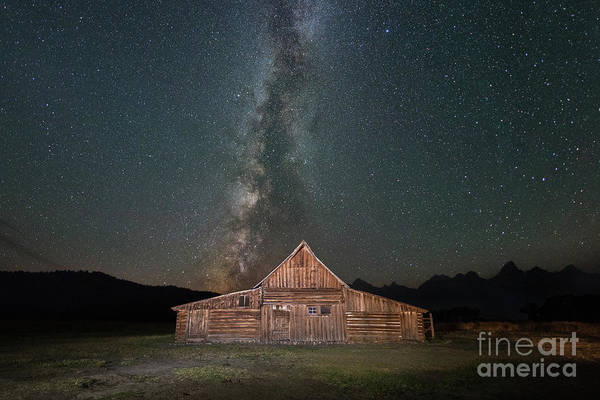 Wall Art - Photograph - Mormon Row Milky Way  by Michael Ver Sprill