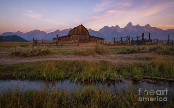 Wall Art - Photograph - Mormon Row Runoff Sunrise 2 by Michael Ver Sprill