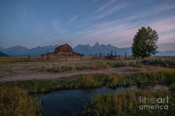 Wall Art - Photograph - Mormon Row Runoff Sunrise by Michael Ver Sprill