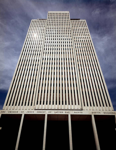 Photograph - 212x01-mormon World Headquarters  by Ed  Cooper Photography