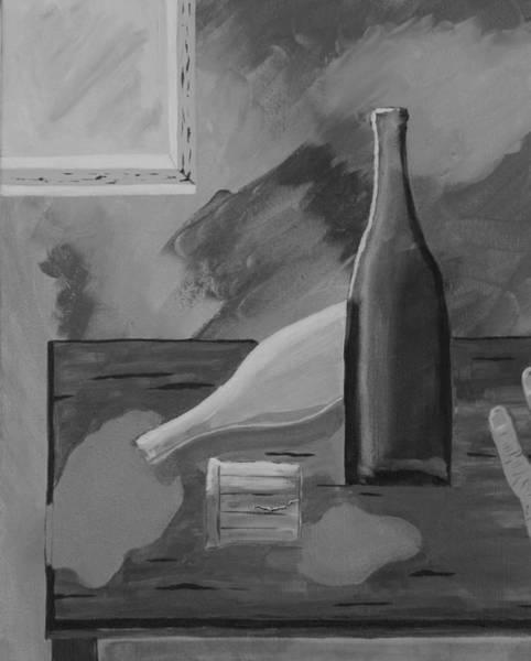 Drunk Mixed Media - Mornin' After-2 by Robert Kelley