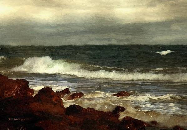 Painting - Morning After The Storm by RC DeWinter