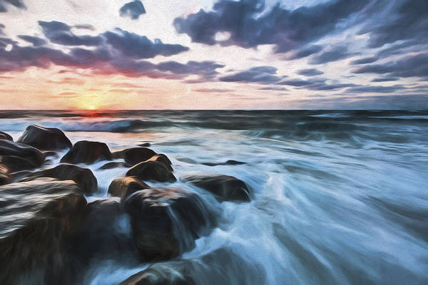 Beautiful Sunrise Digital Art - Morning All The Time II by Jon Glaser