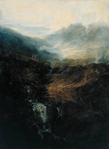 J. M. W. Turner Painting - Morning Amongst The Coniston Fells, Cumberland by JMW Turner