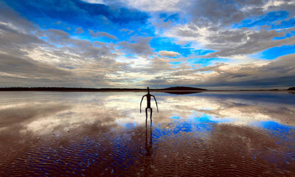 Photograph - Morning Arrival At Lake Ballard by Julian Cook