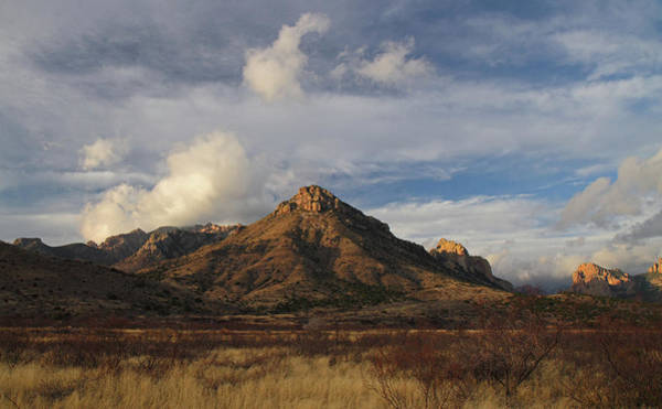 Photograph - Morning At Arizona's Chiricahua Mountains by Steve Wolfe