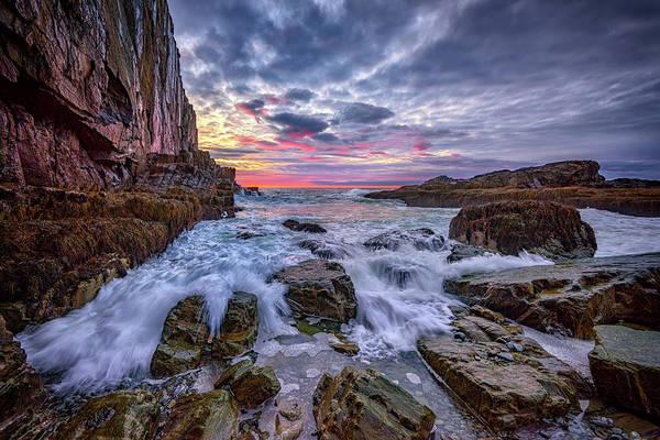 Wall Art - Photograph - Morning At Bald Head Cliff by Rick Berk