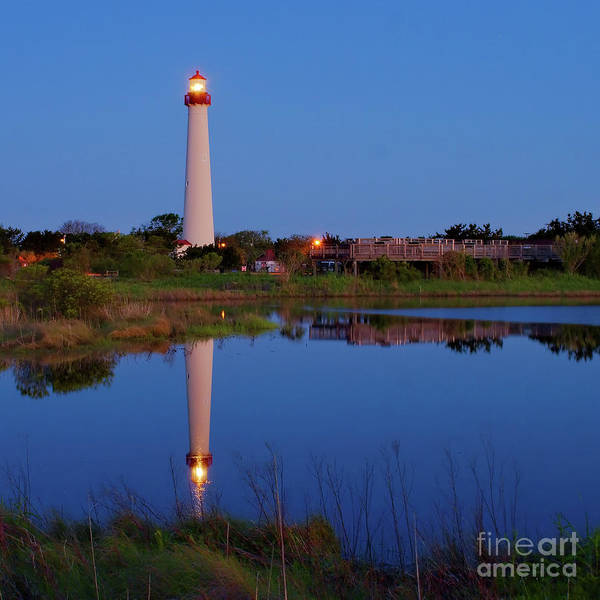 Photograph - Morning At Cape May Lighthouse by Nick Zelinsky