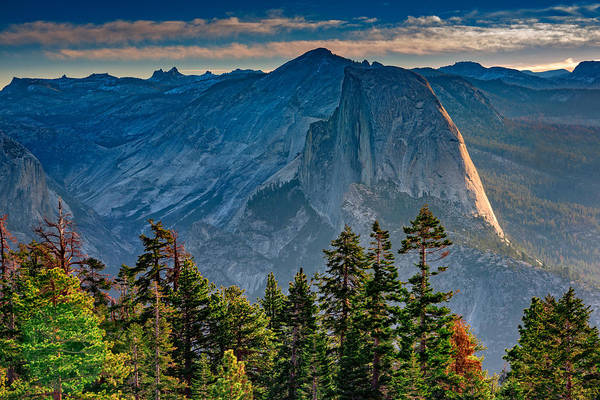 Dome Peak Photograph - Morning At Half Dome by Rick Berk