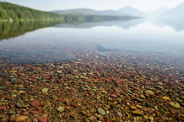 Photograph - Morning At Lake Mcdonald by Margaret Pitcher