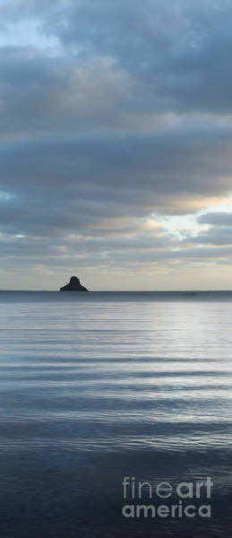 Mokolii Photograph - Morning At Mokoli'i Island by Charmian Vistaunet