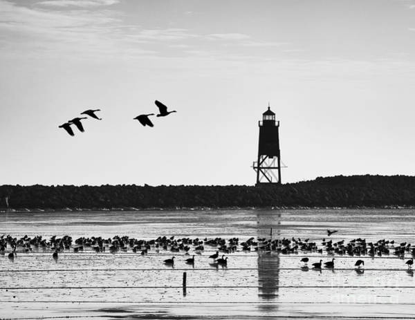 Photograph - Morning At Racine Lakefront by Ricky L Jones