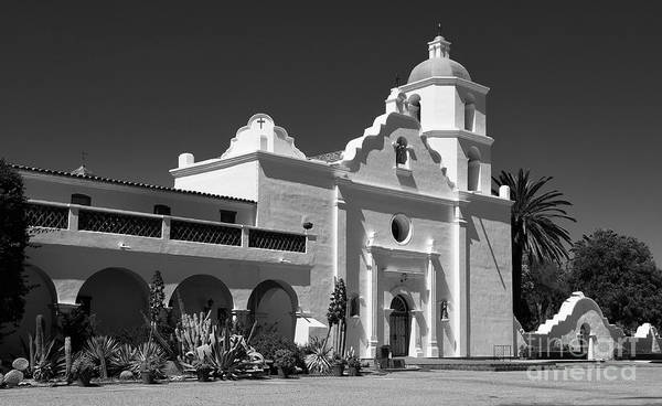 Wall Art - Photograph - Morning At San Luis Rey Mission by Sandra Bronstein