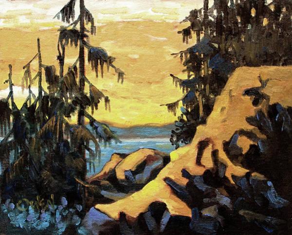 Painting - Morning At Silverspray by Rob Owen
