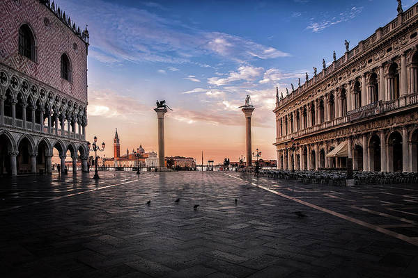 Wall Art - Photograph - Morning At St. Mark's by Andrew Soundarajan