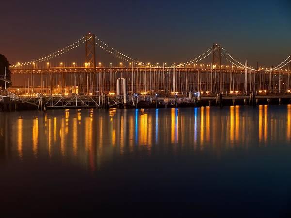 San Mateo Bridge Wall Art - Photograph - Morning At The Bay Bridge  by Dan Twomey