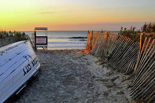 New Jersey Photograph - Morning At The Beach by Dan Myers