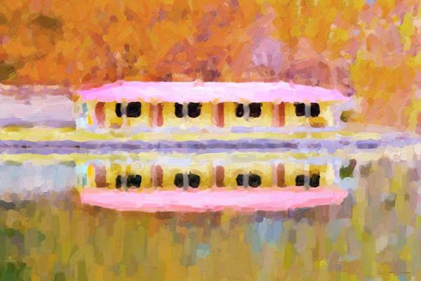 Digital Art - Morning At The Pink Lake No.4 by Serge Averbukh