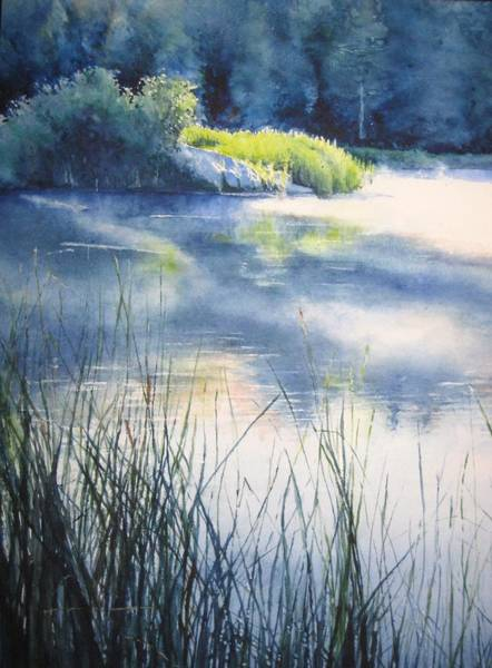 Painting - Morning by Barbara Pease