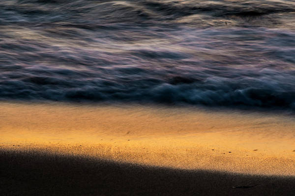 Photograph - Morning Beach Abstract  by Sven Brogren