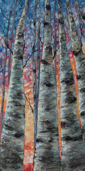 Painting - Morning Breaks  by OLena Art Brand