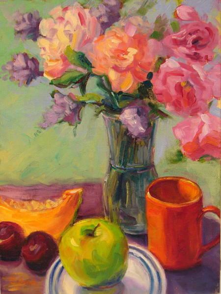 Wall Art - Painting - Morning Break by Sylvia Carlton