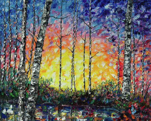 Painting - Morning Breaks  by OLena Art Brand