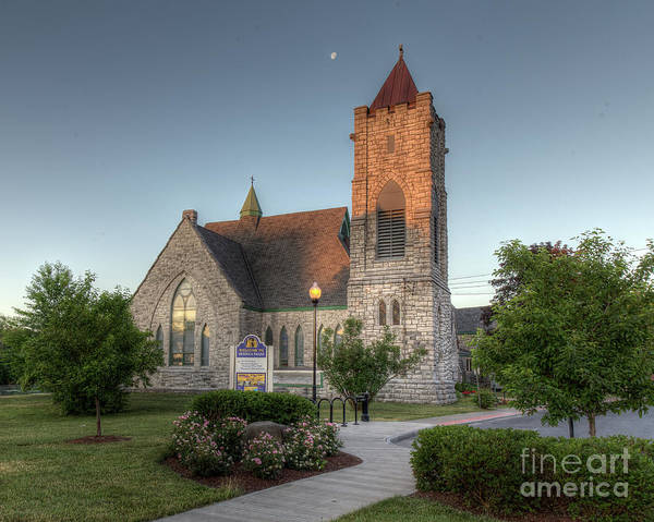 Photograph - Morning Church by Rod Best